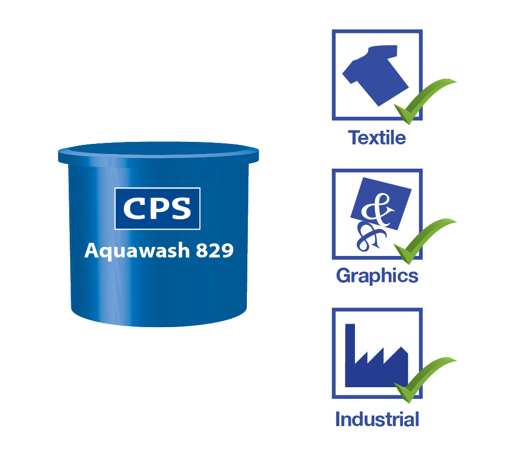 Aquawash 829 and Stencil Remover 1:20/30